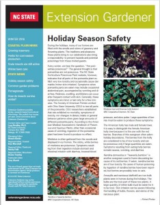 Cover photo for New Edition of Extension Gardener Posted