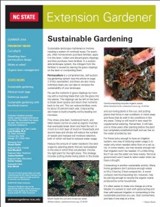 Cover photo for Summer Issue of Extension Gardener Is Now Available!