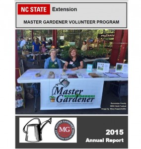 Cover photo for NC Extension Master Gardener Annual Report