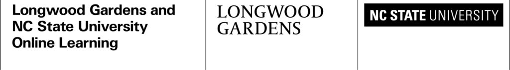 Longwood Gardens & NC State Logo