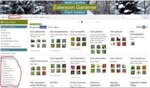 Image of the Plant Toolbox website